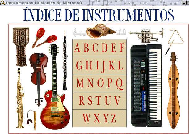 Microsoft Instrumentos Musicales